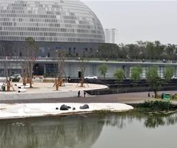 济南文化中心大剧院户外工程项目