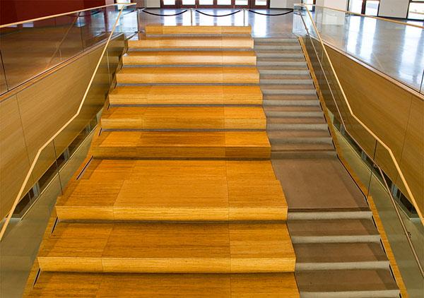 桃花江楼梯竹板 楼梯踏板供应 竹楼梯板批发