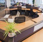 竹家具从民用家具向办公家具进军,已应用于商务