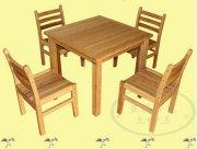 现代竹集成材家具逐渐成为时尚潮流的家具