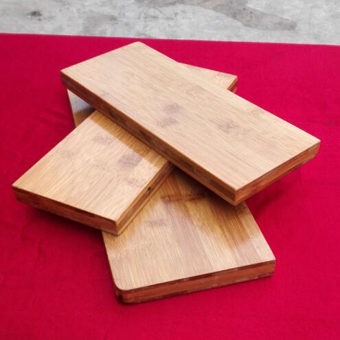 一字竹隔板 U型竹木隔板 墙壁搁板置物架