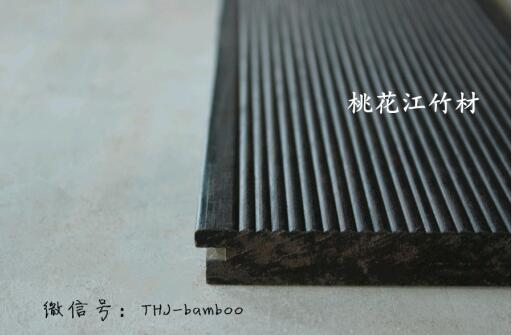 高炭防腐户外地板 细波纹 深炭色